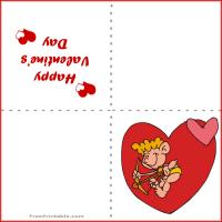 Printable Cupid's Arrow - Printable Valentines - Free Printable Cards