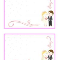 Cute Couple Wedding Thank You Cards