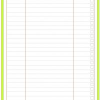 Printable Daily Houseworks Running To Do List - Printable Daily Calendar - Free Printable Calendars
