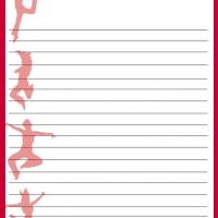 Dance Steps Stationery