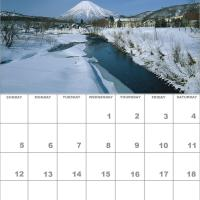 Printable December 2010 Nature Calendar - Printable Monthly Calendars - Free Printable Calendars