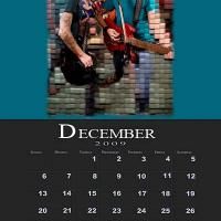 December Music Theme Calendar