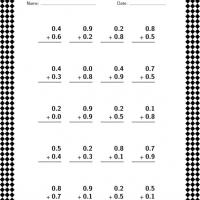 Printable Decimal Addition Lesson - Printable Classroom Lessons - Free Printable Lessons
