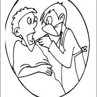 Dentist 1 Coloring Sheet