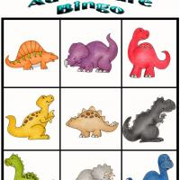Printable Dino Adventure Bingo 1 - Printable Bingo - Free Printable Games