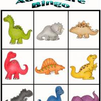 Printable Dino Adventure Bingo 2 - Printable Bingo - Free Printable Games