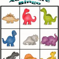 Printable Dino Adventure Bingo 5 - Printable Bingo - Free Printable Games