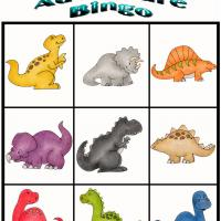 Printable Dino Adventure Bingo 7 - Printable Bingo - Free Printable Games