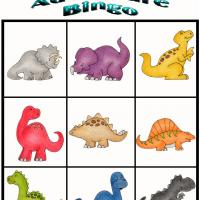 Printable Dino Adventure Bingo 8 - Printable Bingo - Free Printable Games