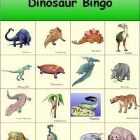 Dinosaur Bingo 2