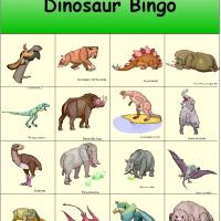 Dinosaur Bingo 3