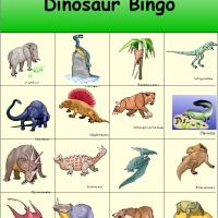 Dinosaur Bingo 7