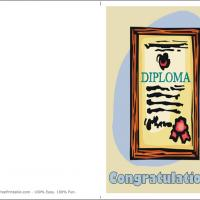 Printable Diploma With Seal - Printable Graduation Cards - Free Printable Cards