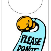 Do Not Disturb Doorhanger