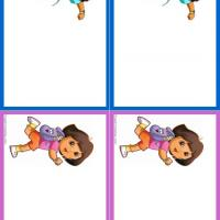 Dora and Diego Name Tags