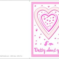 Printable Dotty About You - Printable Valentines - Free Printable Cards