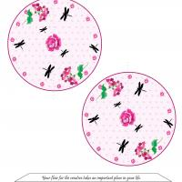 Printable Dragonfly Garden Fortune Cookie - Paper Crafts - Free Printable Crafts