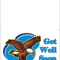 Eagle Get Well Card