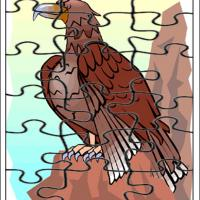 Printable Eagle Jigsaw - Printable Puzzles - Free Printable Games
