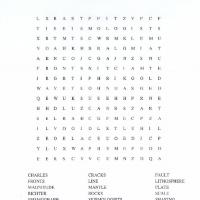 Earthquakes Word Search