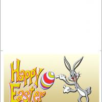 Printable Easter Bugs Bunny - Printable Easter Cards - Free Printable Cards