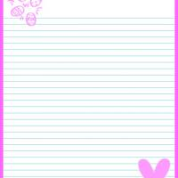 Printable Easter Bunny Stationary - Printable Stationary - Free Printable Activities
