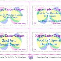 Easter Coupon Treats