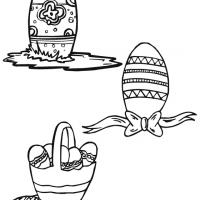 Easter Egg Stencils