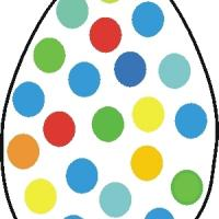 Easter Egg with Spots