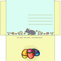 Printable Easter Envelope - Printable Card Maker - Free Printable Cards