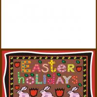 Printable Easter Holidays - Printable Greeting Cards - Free Printable Cards