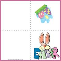 Printable Easter Mini Card - Printable Easter Cards - Free Printable Cards