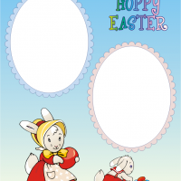 Printable Easter Scrapbook Cover - Printable Scrapbook - Free Printable Crafts