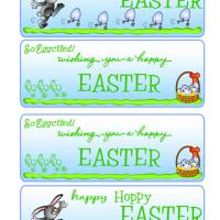 Printable Easter Wishes Bookmarks - Printable Bookmarks - Free Printable Crafts