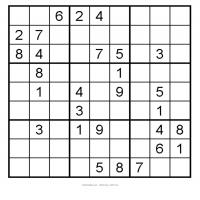 Easy 3x3 Sudoku 1