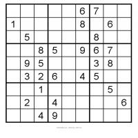 Easy 3x3 Sudoku 10