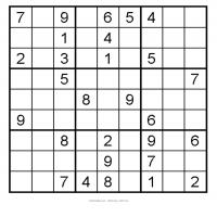 Easy 3x3 Sudoku 19