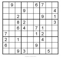 Easy 3x3 Sudoku 20