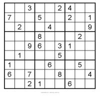 Easy 3x3 Sudoku 3