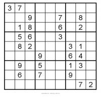Easy 3x3 Sudoku 4