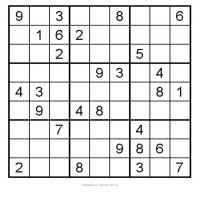 Easy 3x3 Sudoku 5