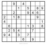Easy 3x3 Sudoku 7
