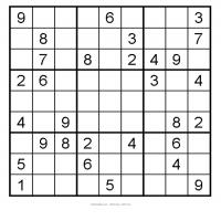 Easy 3x3 Sudoku 8