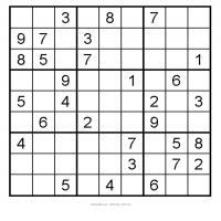 Easy 3x3 Sudoku 9