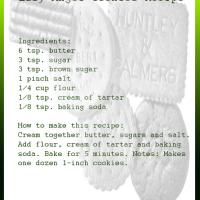 Printable Easy Angel Cookies Recipe - Printable Recipes - Free Printable Activities