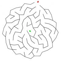 Easy Round Maze