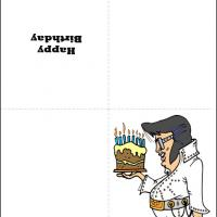 Printable Elvis Birthday Cards - Printable Birthday Cards - Free Printable Cards