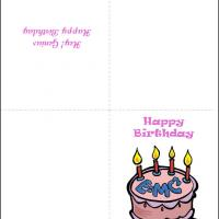 Printable EMC Card - Printable Birthday Cards - Free Printable Cards