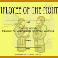 Printable Employee Of The Month Award Now This Can Be Framed - Printable Awards - Misc Printables