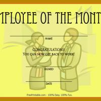 Employee Of The Month Now Get Back To Work